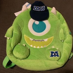 New with tag Monster inc university  mike backpack